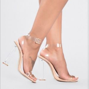 Shoes - The Glass Slipper - Transparent